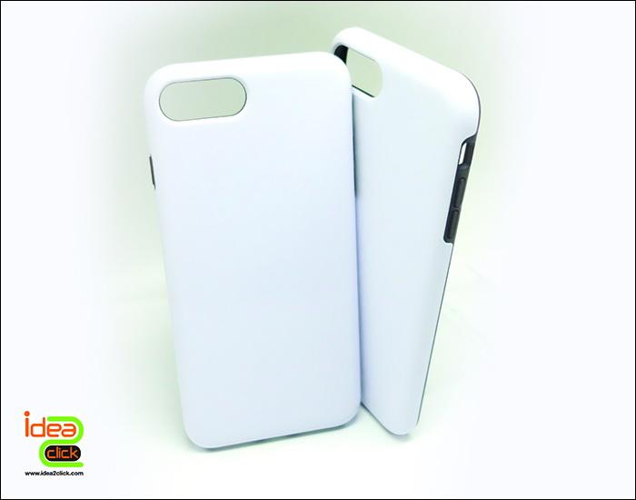 เคสพิมพ์ภาพเต็มรอบกรอบ pvc ผสมยาง iPhone 7 Plus แบบ 2in1