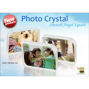 [crystal-13] New! Photo Crystal ทรง Smooth Angel