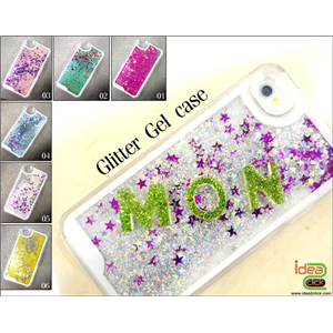 [case-04] เคส Glitter Gel case - iPhone 4 & iPhone 5